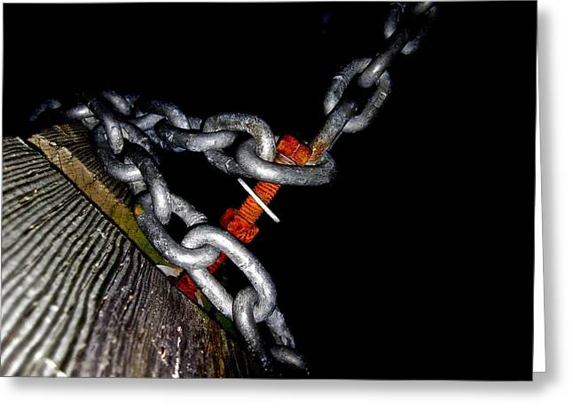 Chain Still Life Greeting Card