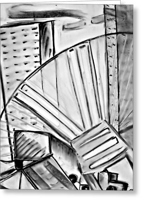 Chair..man Of The Industry Greeting Card by John Grace