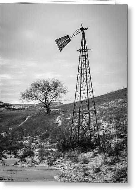 Challenge Windmill 4 Greeting Card by Chad Rowe