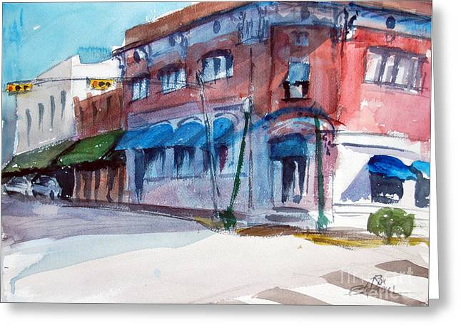 Chamber Of Commerce Mineola Tx Greeting Card by Ron Stephens
