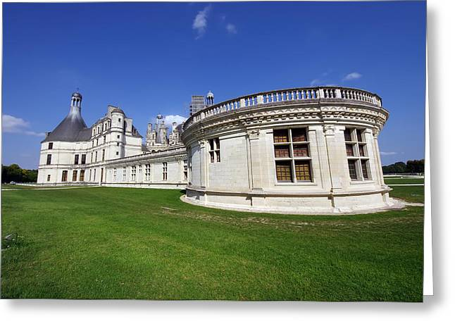 Chambord Castle  Greeting Card by Ioan Panaite