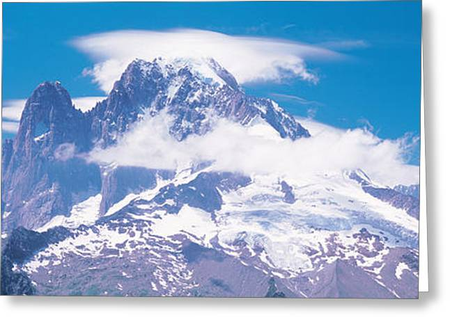 Chamonix France Greeting Card by Panoramic Images