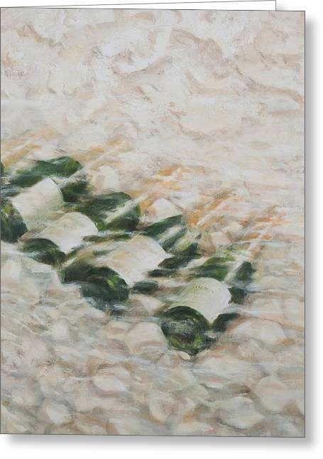 Champagne Cooling Greeting Card by Lincoln Seligman