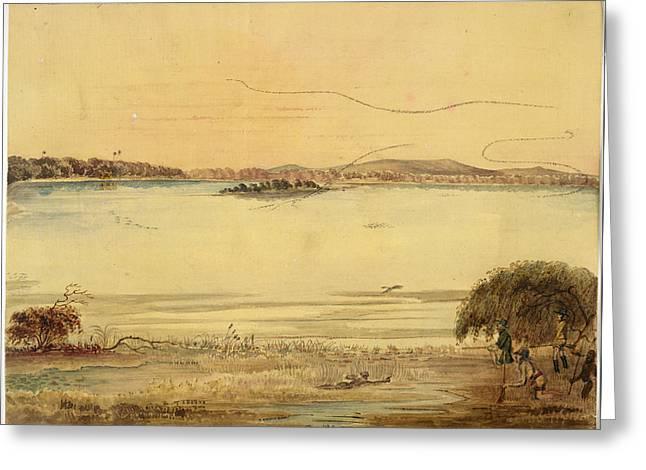 Champaneer Lake Greeting Card