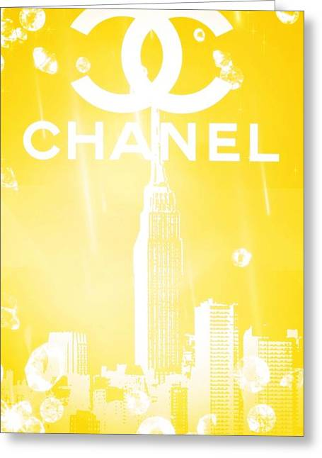 Chanel Greeting Card by Pierre Chamblin