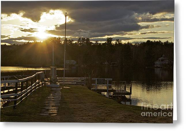 Greeting Card featuring the photograph Changing Skies by Alice Mainville