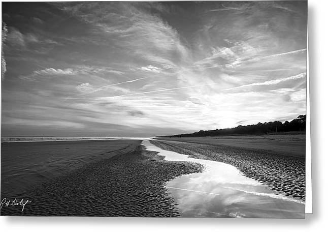 Channel To The Sea Greeting Card by Phill Doherty
