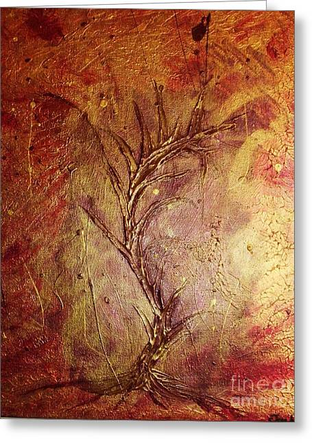 Chaos - The Bleeding Tree  Greeting Card