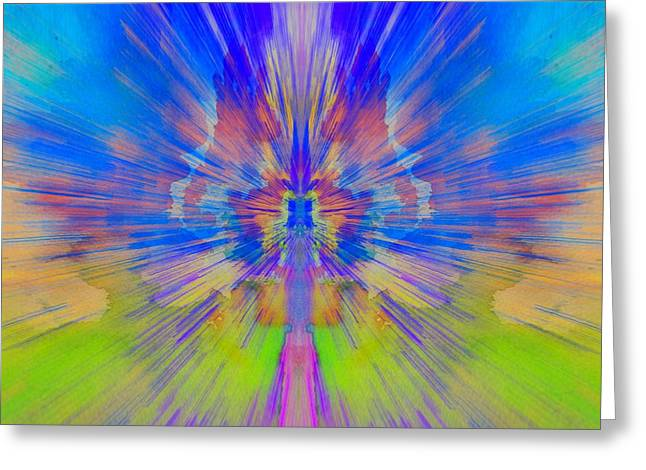 Chaos Theory Greeting Card by Dan Sproul