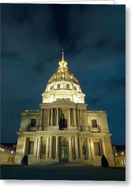 Chapel In Paris Greeting Card by Ioan Panaite