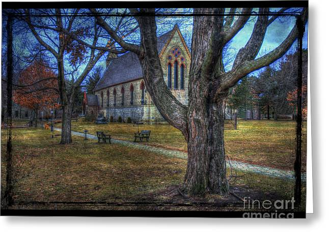Chapel Greeting Card by Jim Wright