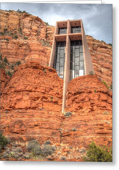 Chapel Of The Holy Cross Greeting Card by Ross Henton
