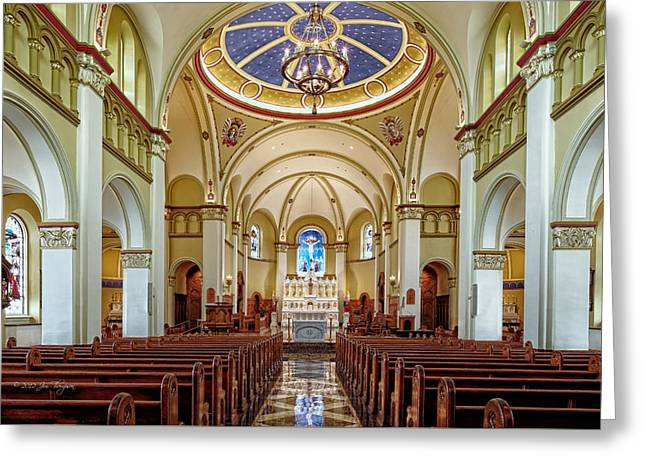 Greeting Card featuring the photograph Chapel Of The Immaculate Conception by Jim Thompson