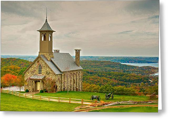 Chapel Of The Ozarks Greeting Card