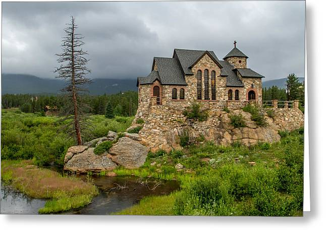 Chapel On The Rock - II Greeting Card by Jeff Stoddart