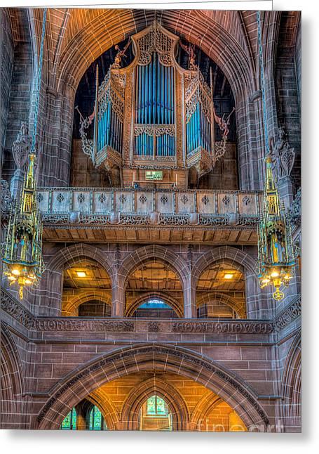 Chapel Organ Greeting Card