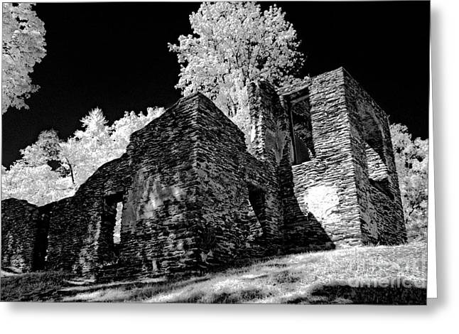 Chapel Ruins - 659 Greeting Card by Paul W Faust -  Impressions of Light