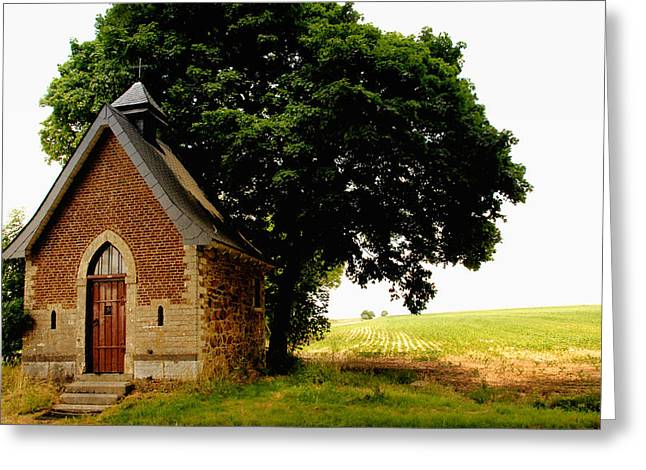 Chapel Greeting Card by TouTouke A Y