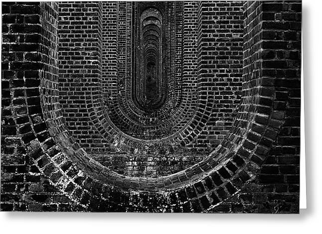 Chapel Viaduct Essex Uk Greeting Card by Martin Newman
