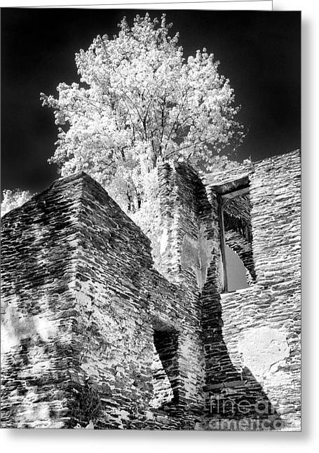 Chaple Ruins - 642 Greeting Card by Paul W Faust -  Impressions of Light