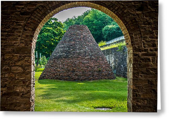 Charcoal Kiln Greeting Card by Paul Freidlund