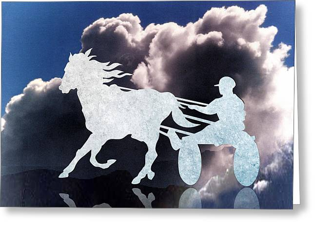 Chariots Of Fire Greeting Card by Patricia Howitt