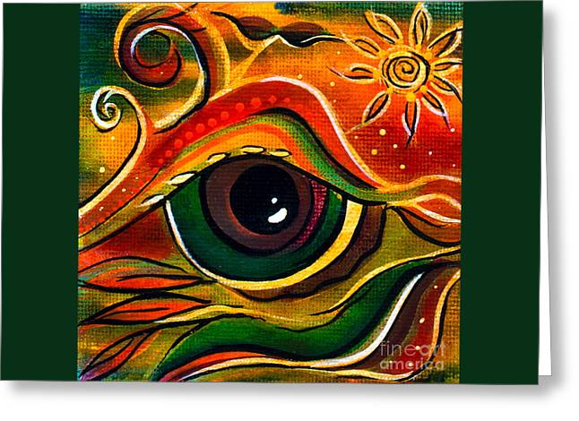 Charismatic Spirit Eye Greeting Card