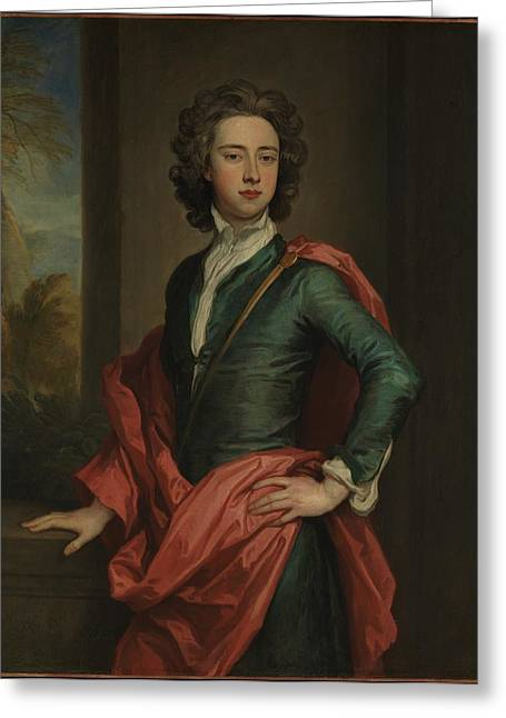Charles Beauclerk 1670-1726, Duke Greeting Card by Sir Godfrey Kneller