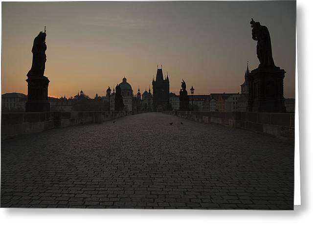 Charles Bridge Prague Greeting Card