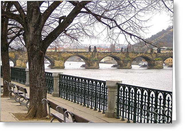 Charles Bridge  Greeting Card