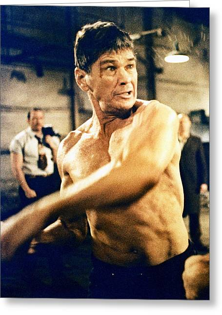 Charles Bronson In Hard Times  Greeting Card by Silver Screen