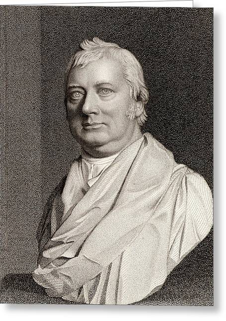 Charles Burney Greeting Card by Universal History Archive/uig