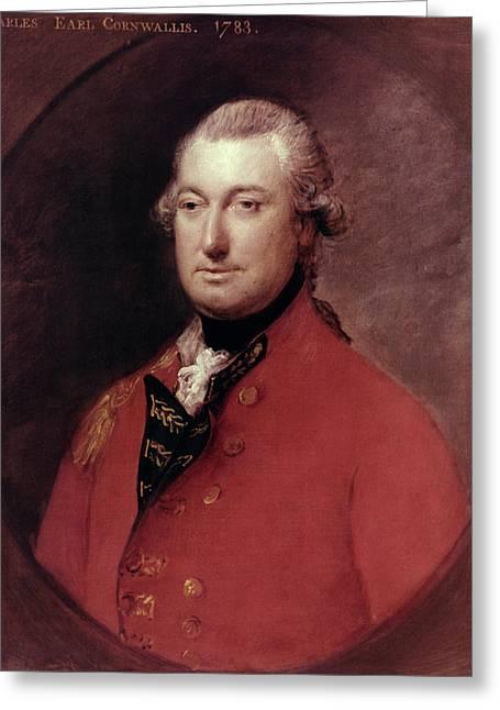 Charles Cornwallis (1738-1805) Greeting Card