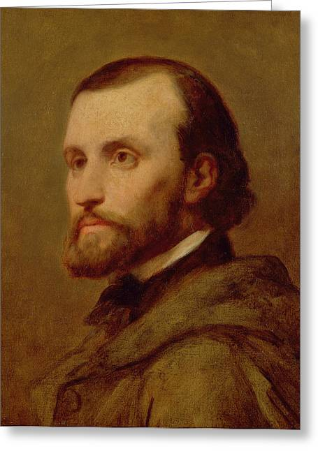 Charles Gounod Oil On Canvas Greeting Card