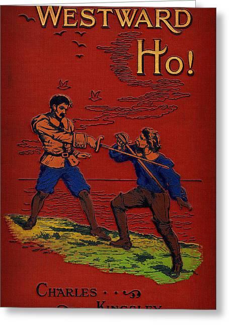 Charles Kingsleys Westward Ho Greeting Card