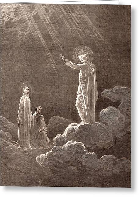 Charles Martel, By Gustave DorÉ. Dore, 1832 - 1883 Greeting Card