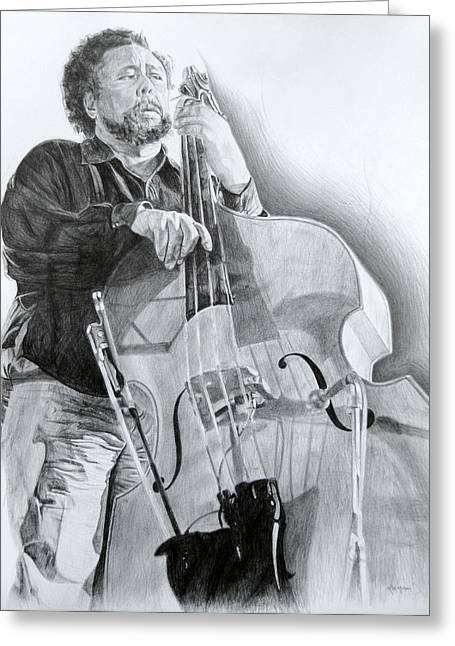 Charles Mingus Greeting Card