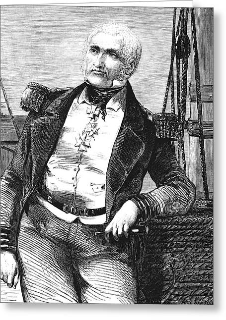 Charles Napier Greeting Card by Collection Abecasis