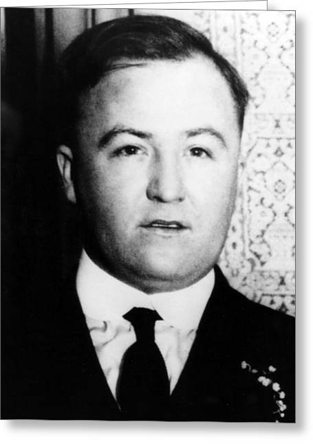 Charles Obanion, Irish-american Mobster Greeting Card by Science Source