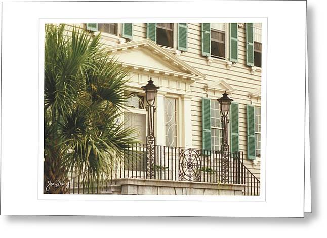 Charleston Architecture 3 Greeting Card