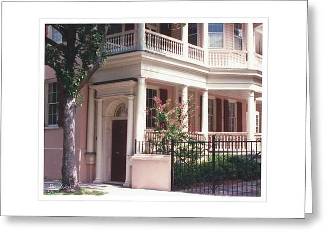 Charleston Architecture 4 Greeting Card