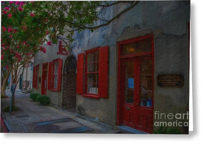 Charleston Catfish Row Greeting Card by Dale Powell