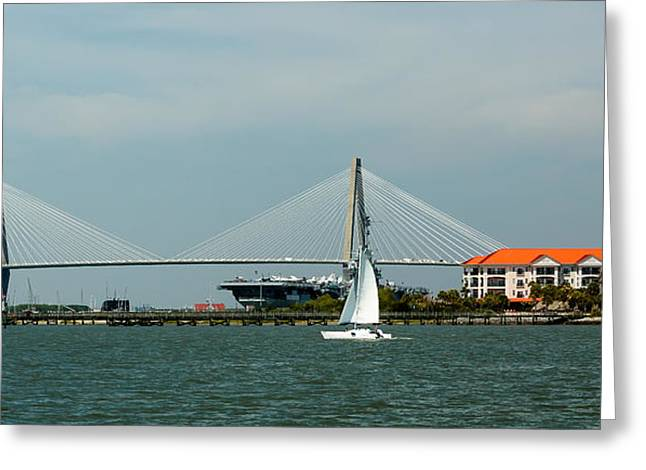 Charleston Ravenal Bridge Greeting Card