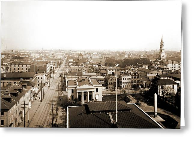Charleston, S.c. From St Greeting Card