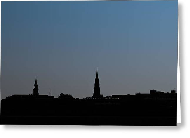 Charleston Silhouette Greeting Card