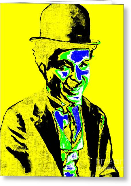 Charlie Chaplin 20130212p60 Greeting Card by Wingsdomain Art and Photography