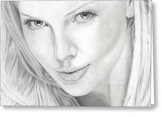 Charlize Greeting Card