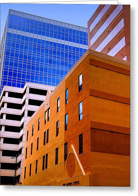 Charlotte Abstract Greeting Card