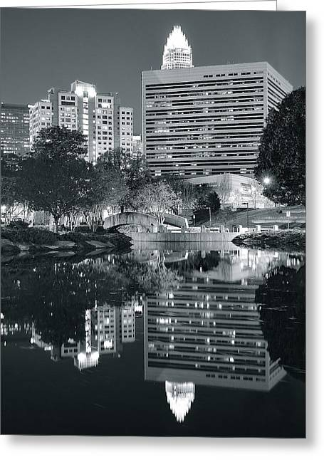 Charlotte Black And White Greeting Card by Frozen in Time Fine Art Photography
