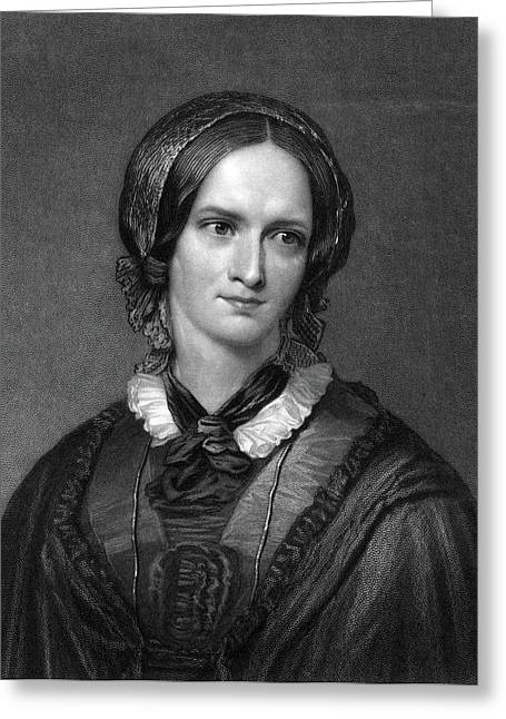 Charlotte Bront� (1816-1855) Greeting Card by Granger